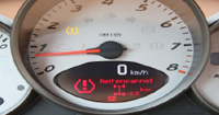 TPMS Display warning